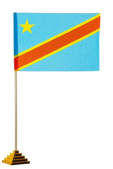Настольный флаг ДР Конго