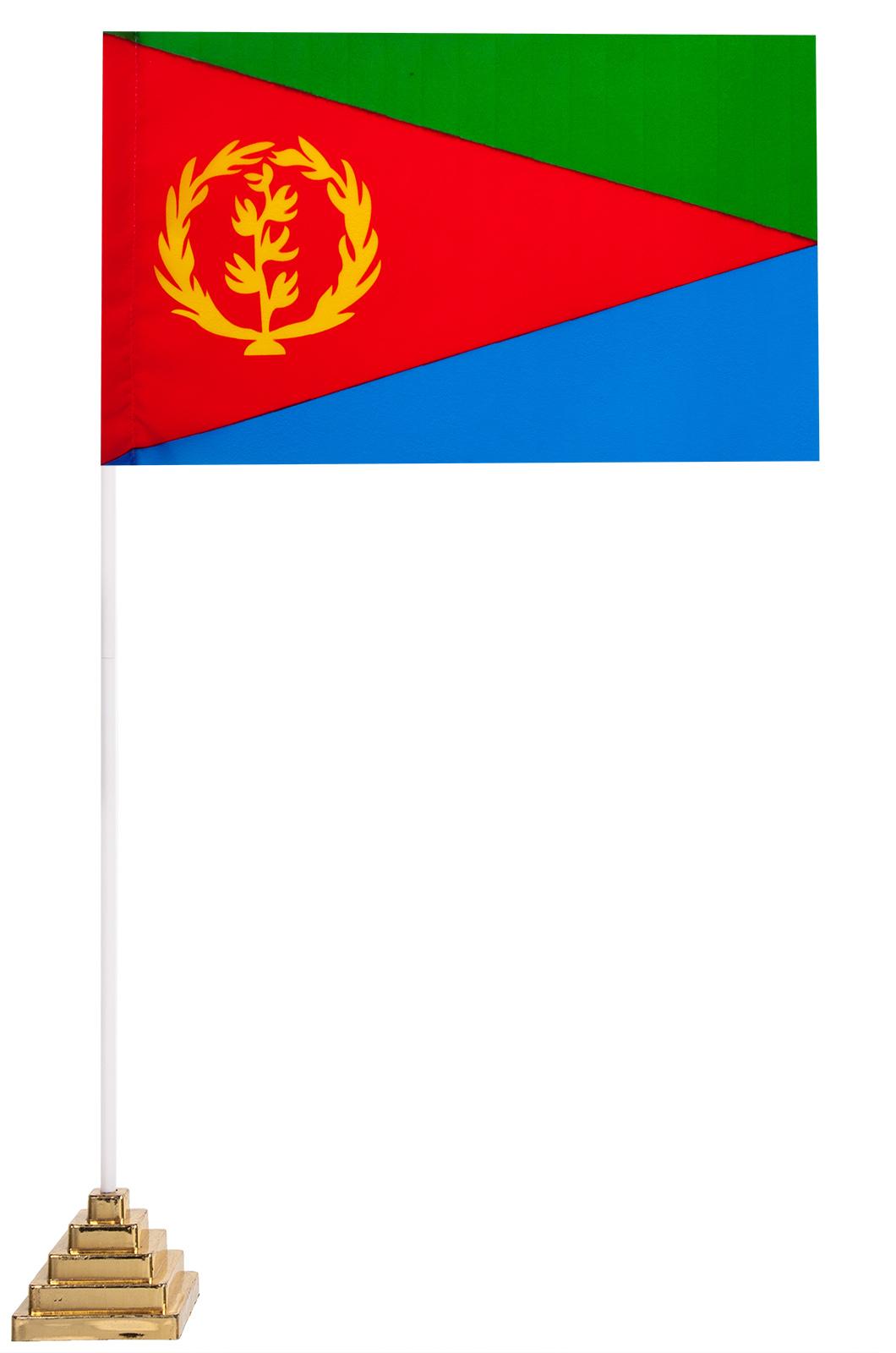 Настольный флаг Эритреи