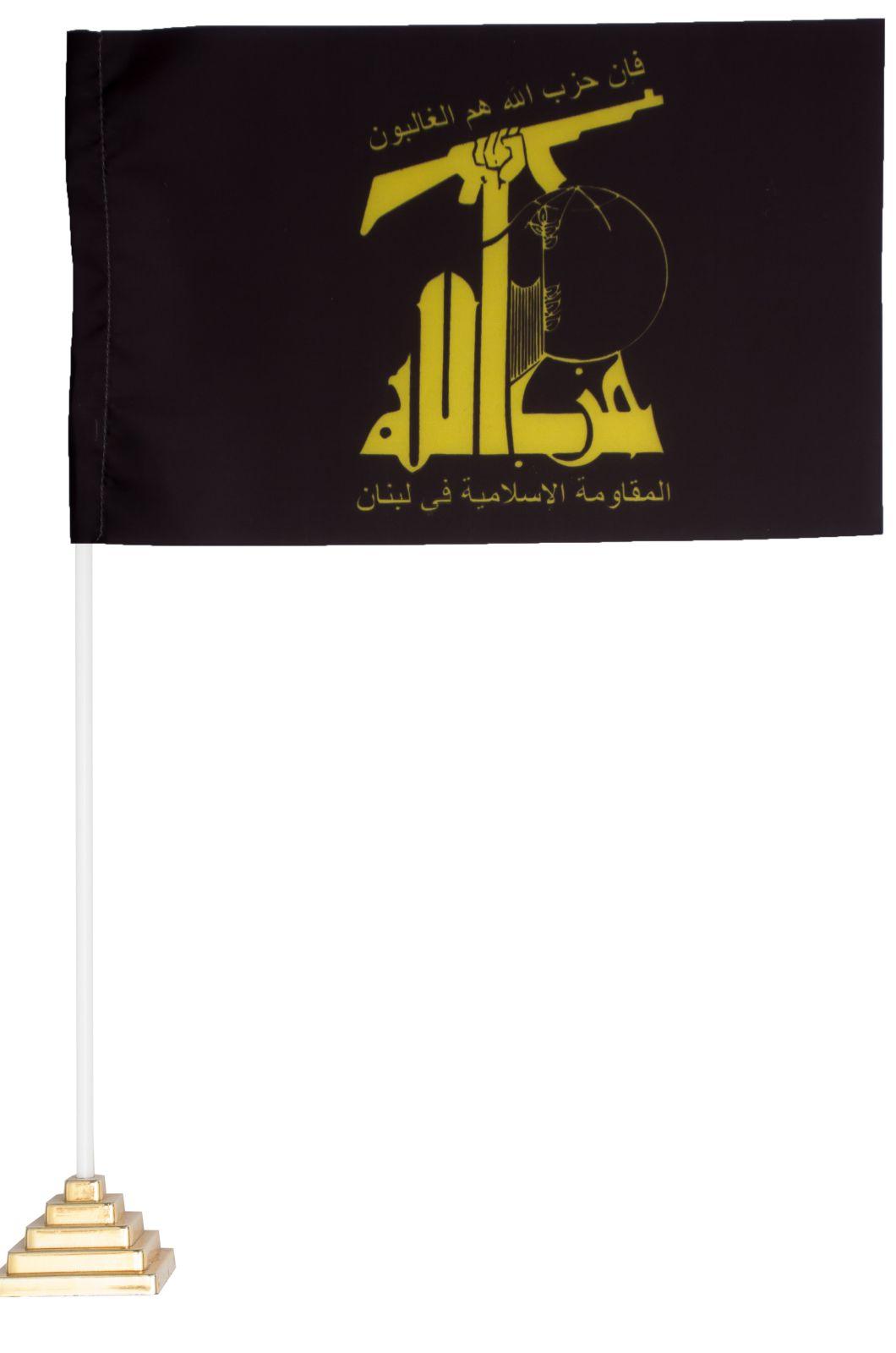 Настольный флаг Хезболлы