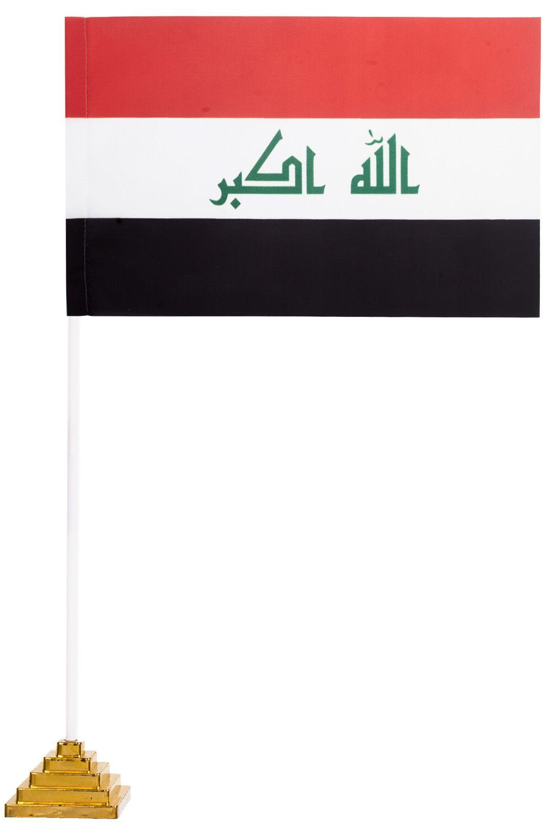 Настольный флаг Ирака