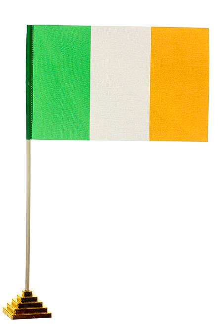 Настольный флаг Ирландии