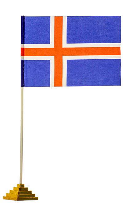 Настольный флаг Исландии