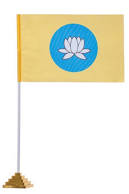 Настольный флаг Калмыкии