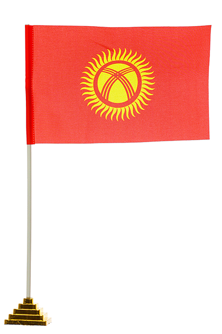 Настольный флаг Киргизии