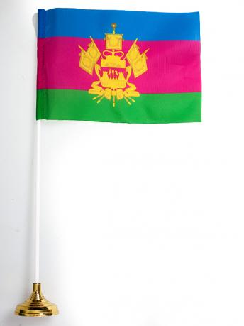 Настольный флаг Краснодарского края