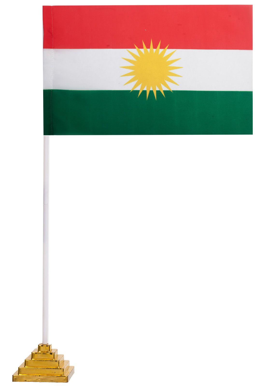 Настольный флаг Курдистана