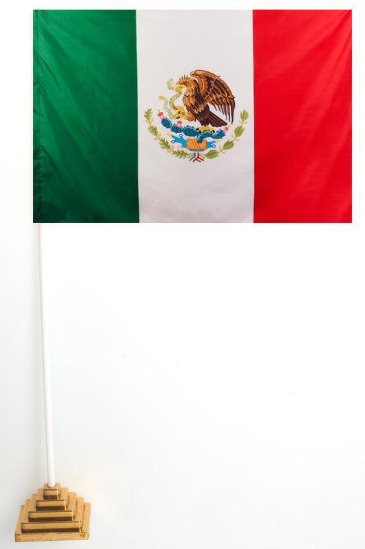 Флаг Мексики настольный