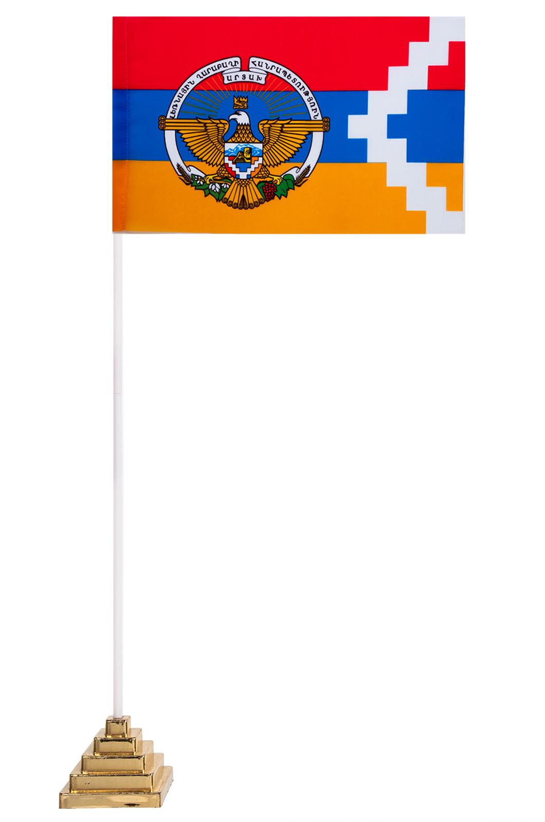 Настольный флаг Нагорно-Карабахской республики