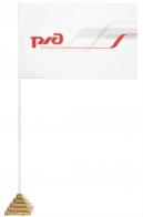 Настольный флаг Российских Железных дорог