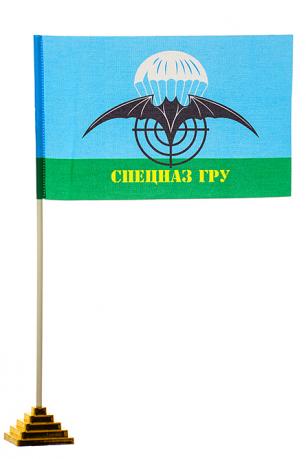 Настольный флаг с эмблемой Спецназа ГРУ