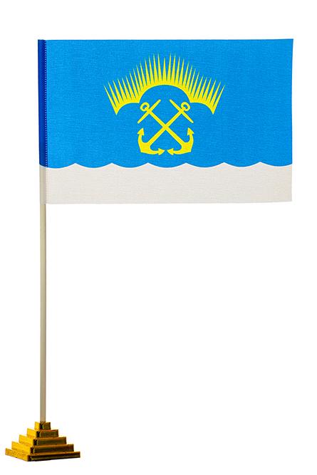 Настольный флаг Североморска