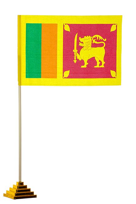 Настольный флаг Шри-Ланки