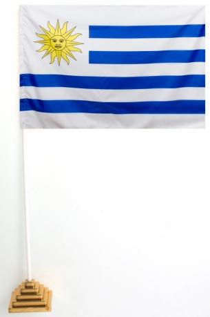 Флаг Уругвая настольный