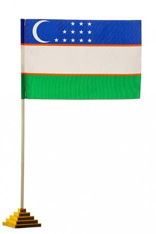 Настольный флаг Узбекистана