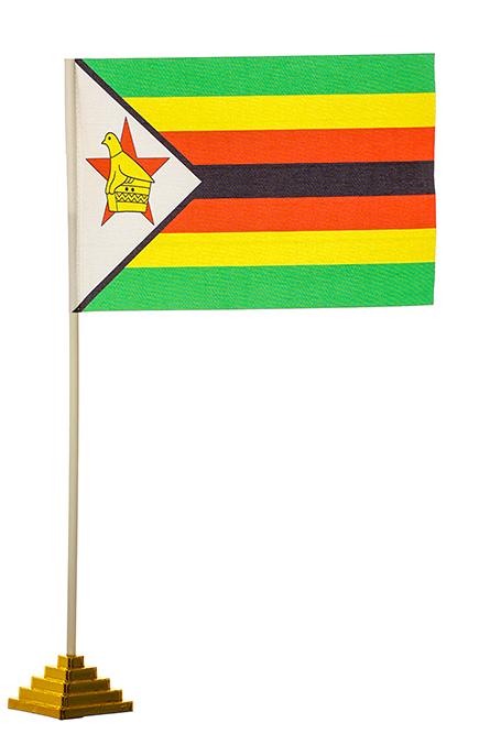 Настольный флаг Зимбабве
