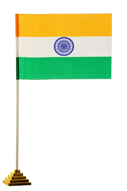 Настольный флажок Индии