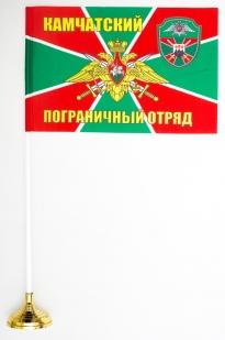 Двухсторонний флаг «Камчатский пограничный отряд»