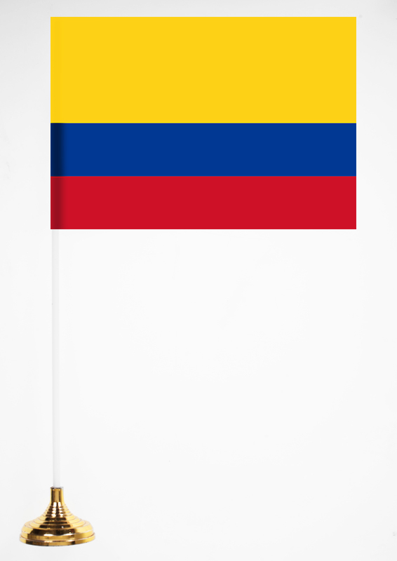 Настольный флажок Колумбии