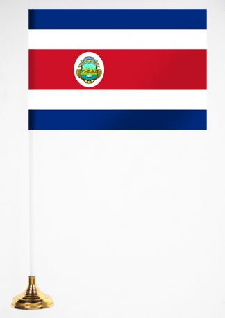 Настольный флажок Коста-Рики