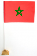 Настольный флажок Марокко