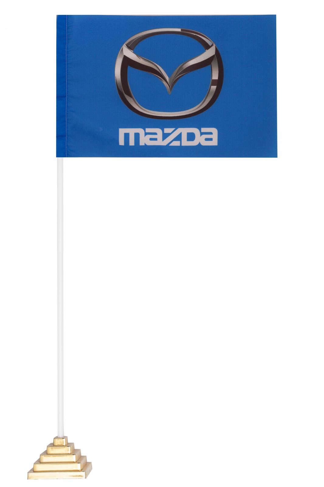 Настольный флажок Мазда