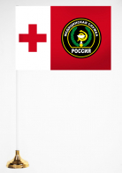 Настольный флажок Медицинской службы ВС РФ