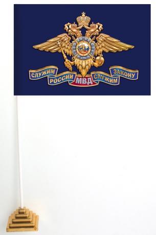 Настольный флажок МВД РФ