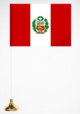 Настольный флажок Перу
