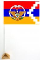 Настольный флажок Республики Арцах с гербом