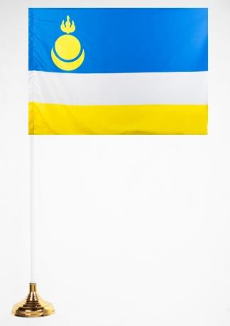 Настольный флажок Республики Бурятия