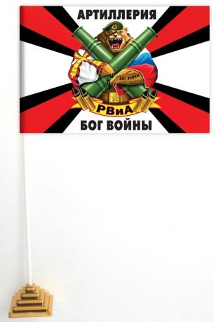 Настольный флажок с девизом РВиА