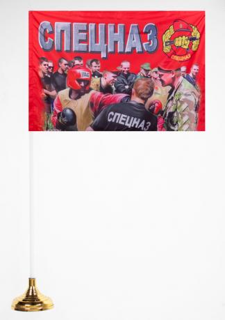 Настольный флажок Спецназовца Росгвардии