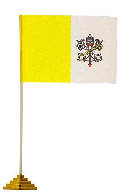 Настольный флажок Ватикана
