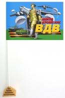 Настольный флажок ВДВ на мини подставке