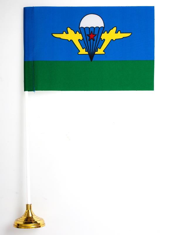 Настольный флажок ВДВ СССР с белым куполом