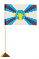 Флаг Войск РЭБ ВС России настольный