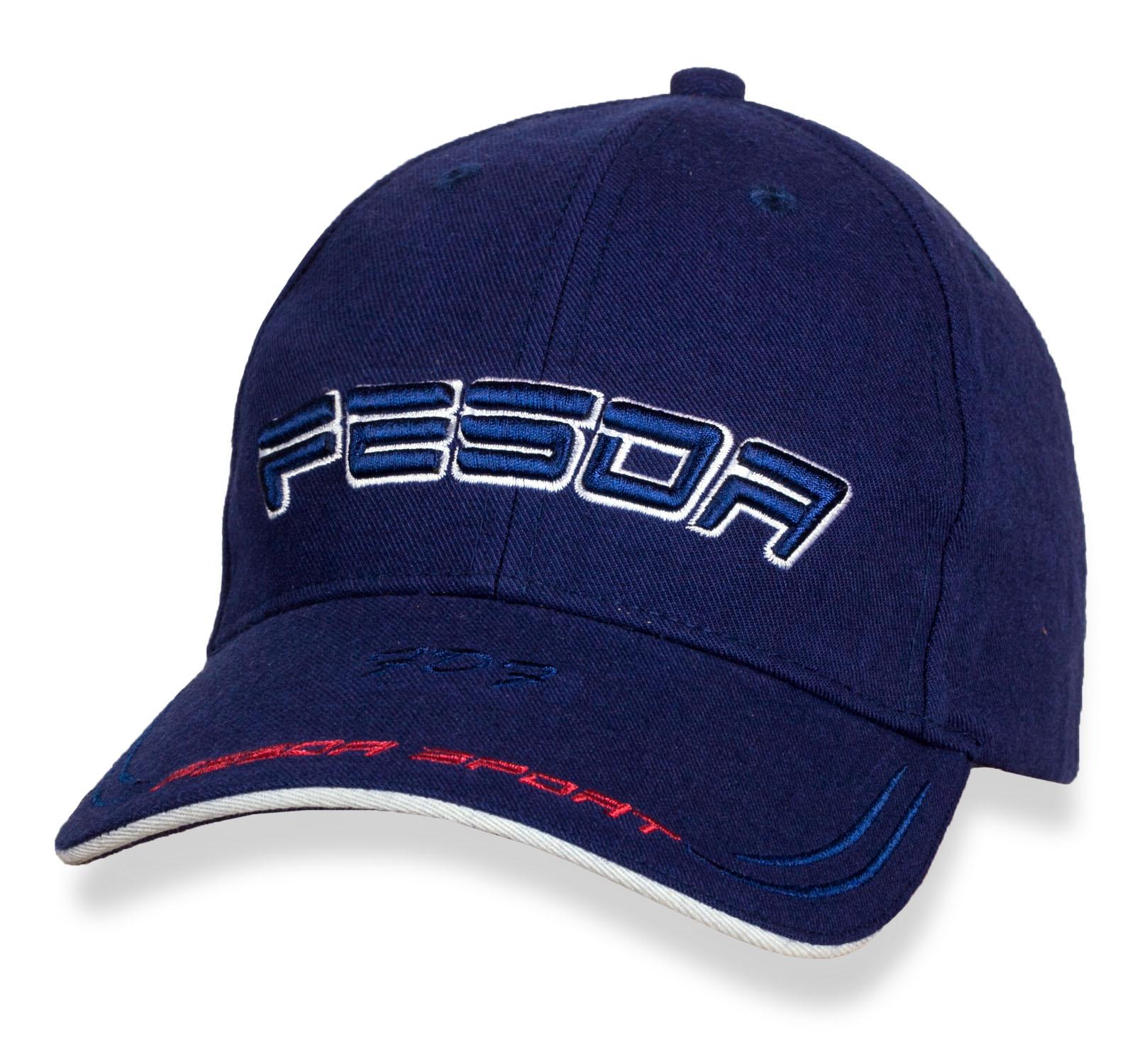 Насыщенная синяя бейсболка Fesor