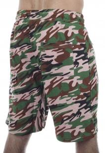 Насыщенные армейские шорты с нашивкой Погранвойска - заказать онлайн