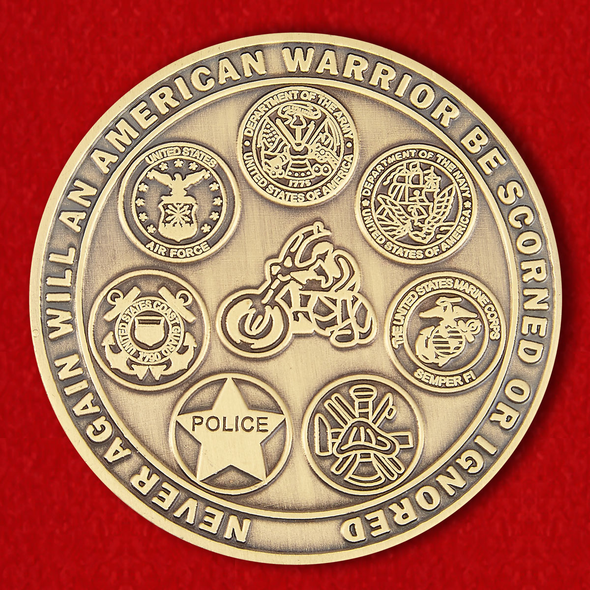 National League of Families of Prisoners of War And Missing Challenge Coin