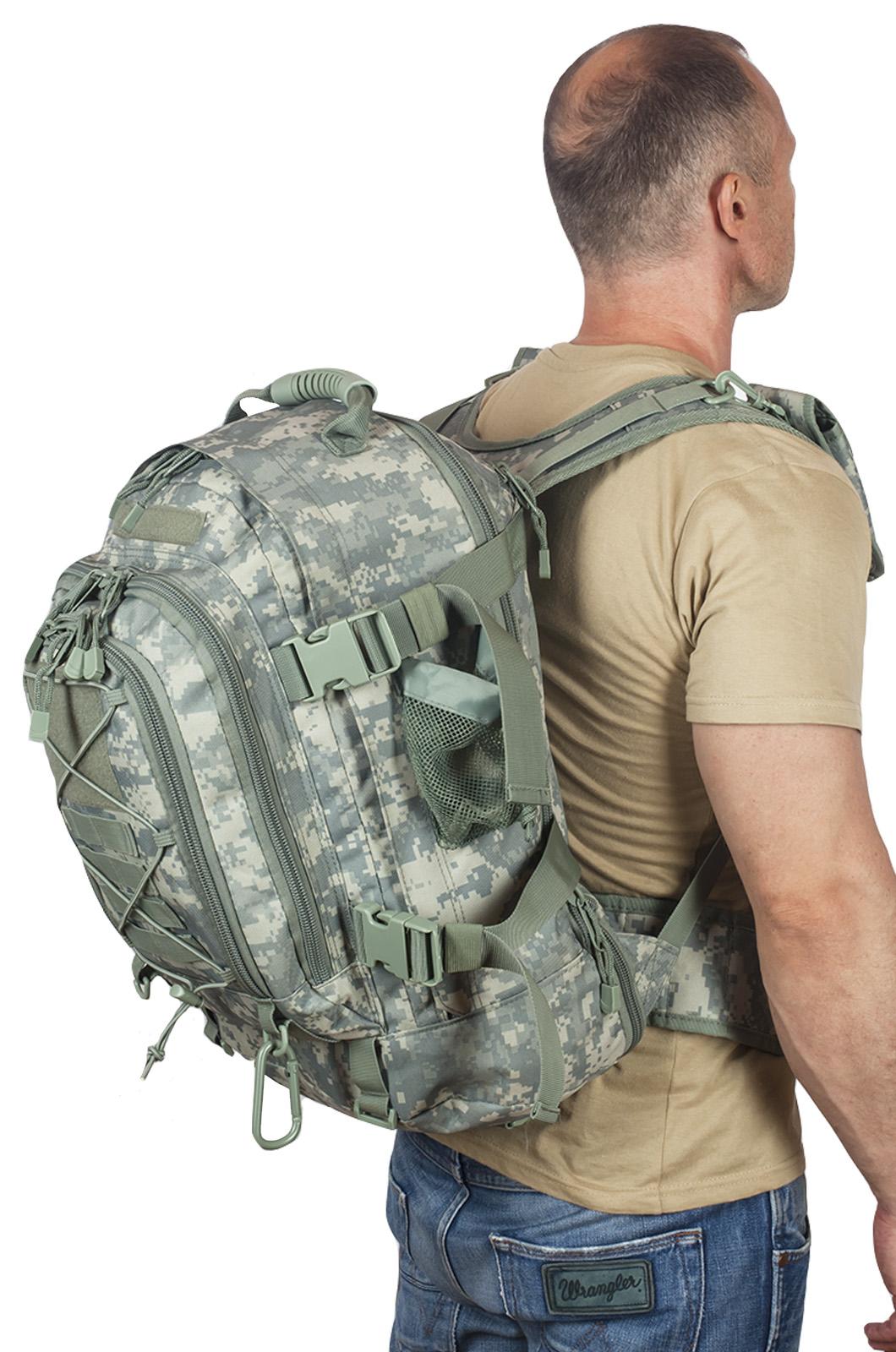 Натовский тактический рюкзак с гидратором 3-Day Expandable Backpack ACU высокого качества