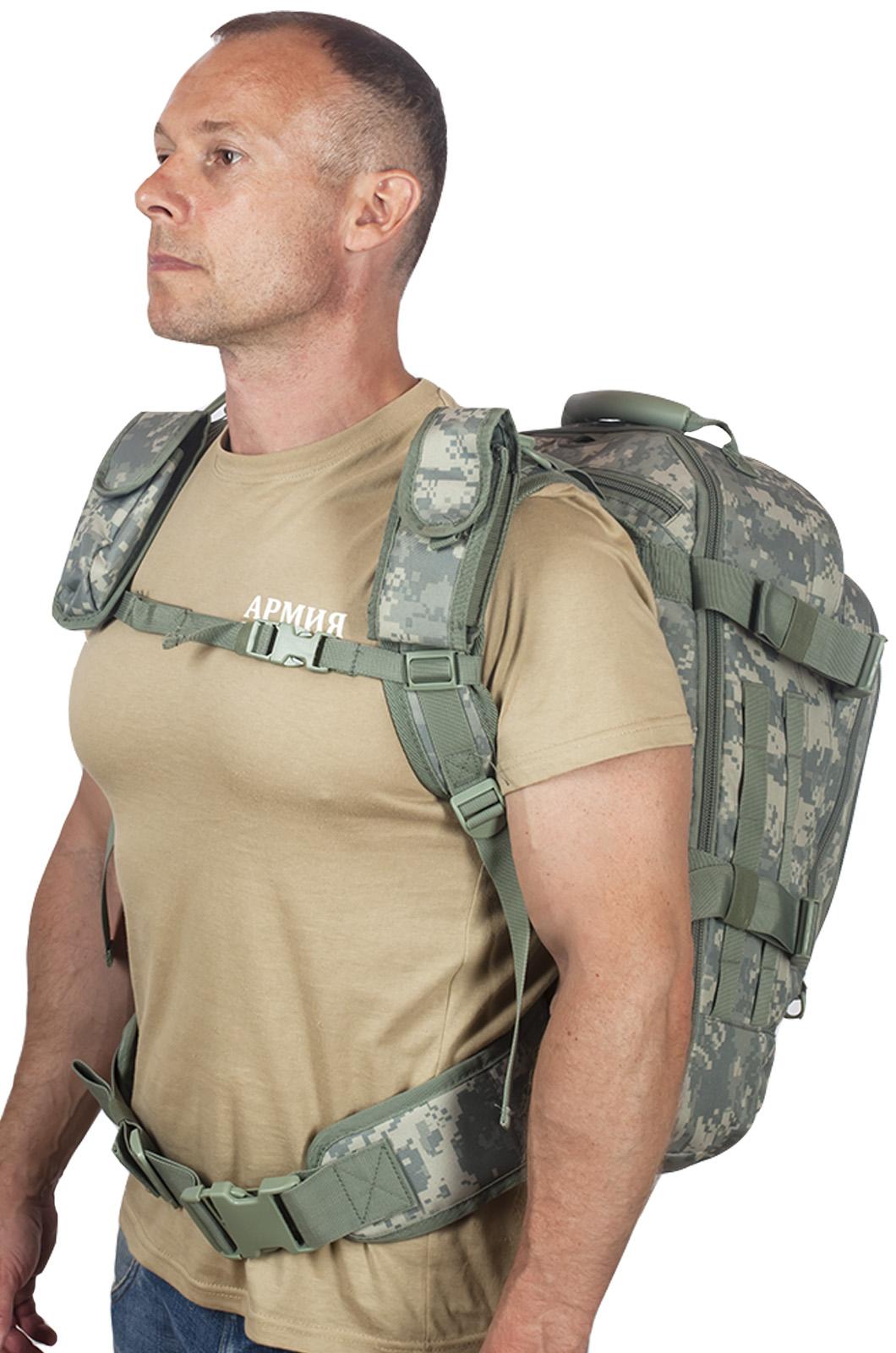 Натовский тактический рюкзак с гидратором 3-Day Expandable Backpack ACU по лучшей цене