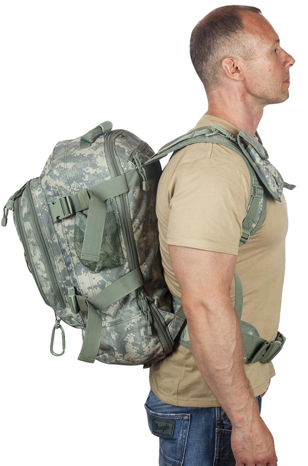 Натовский тактический рюкзак с гидратором 3-Day Expandable Backpack ACU с доставкой