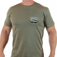 Натуральная мужская футболка Танковые Войска.