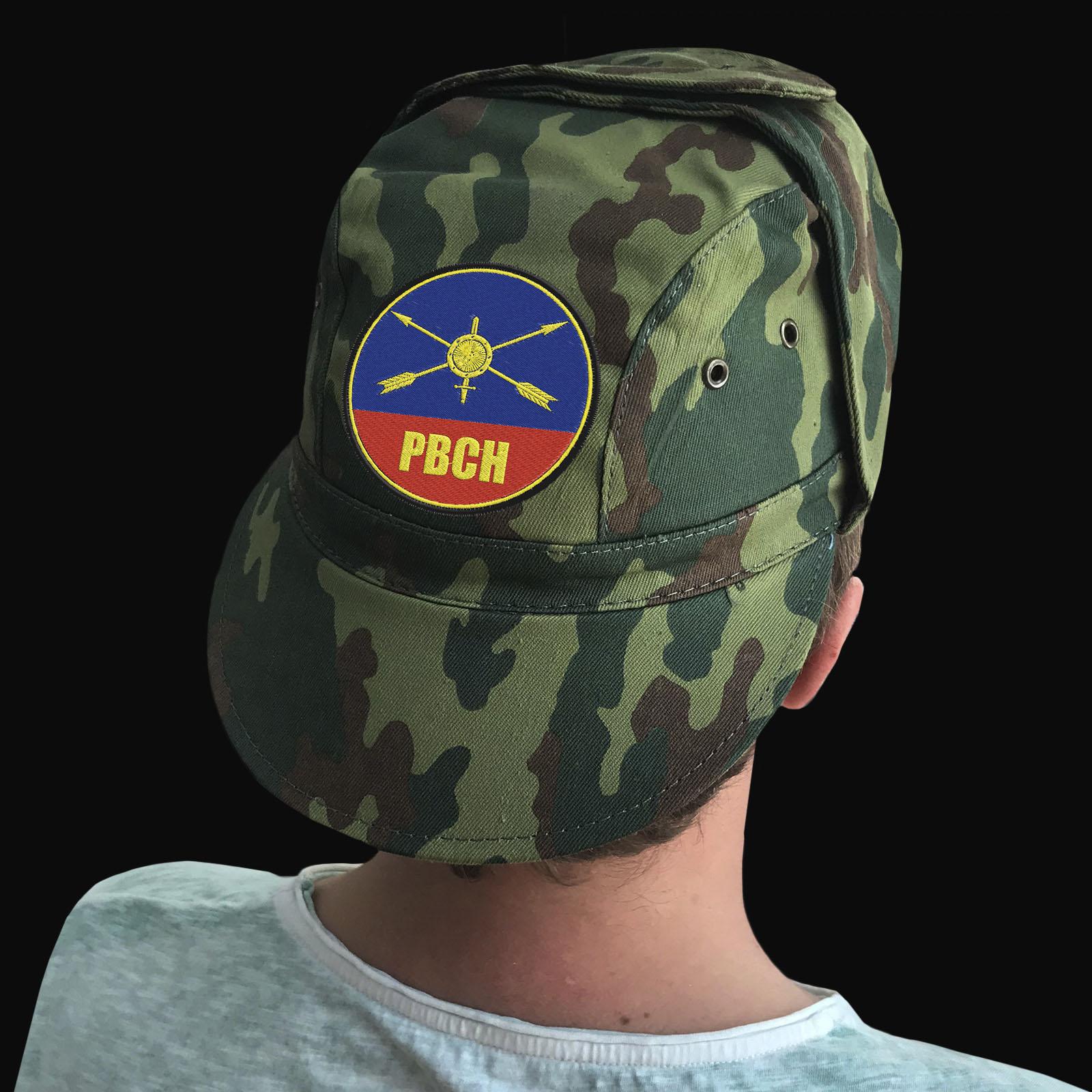 Мужские кепки с символикой Ракетных войск стратегического назначения