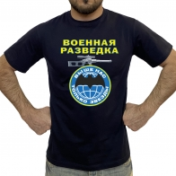 Натуральная мужская футболка Военная разведка