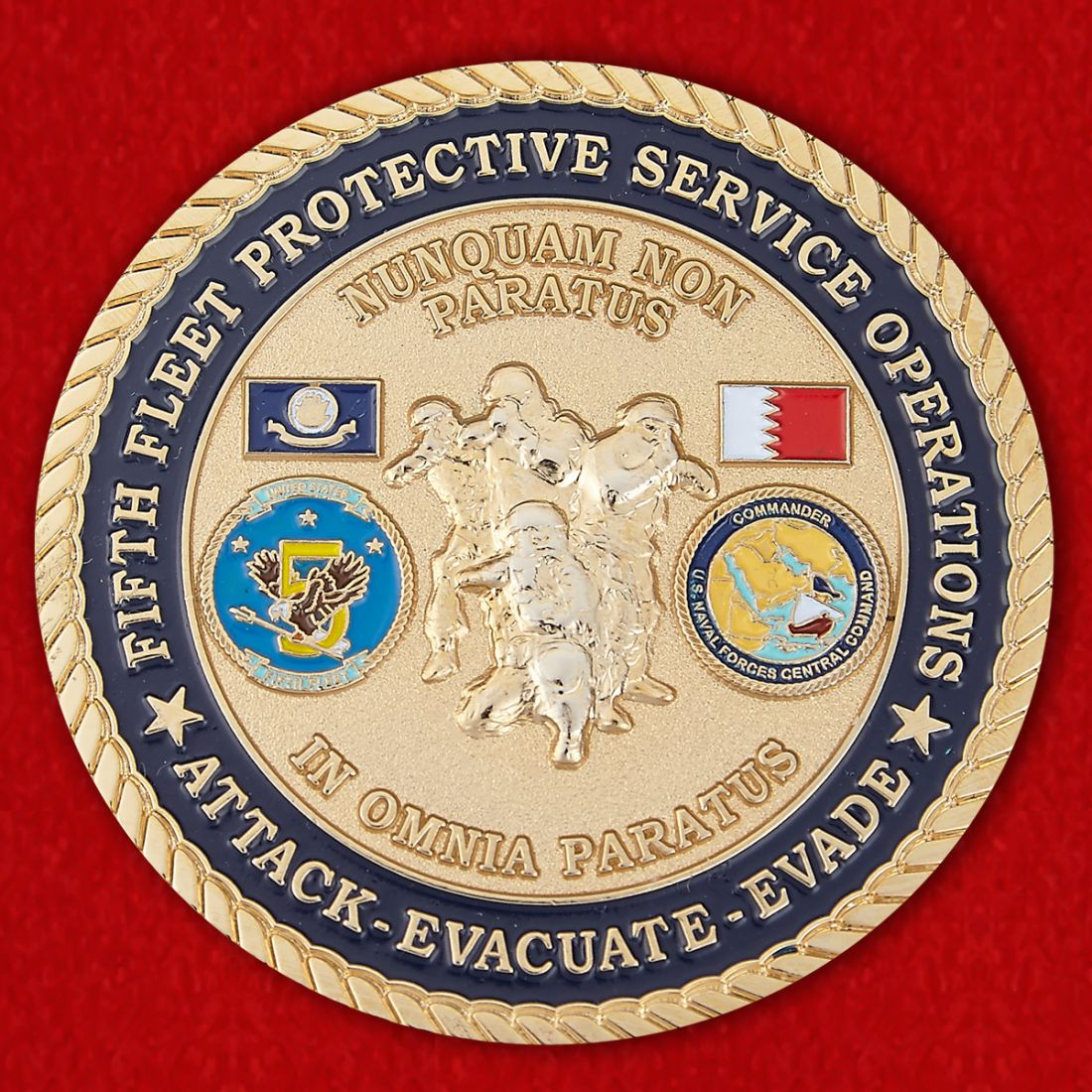 Naval Forces Central Command Challenge Coin
