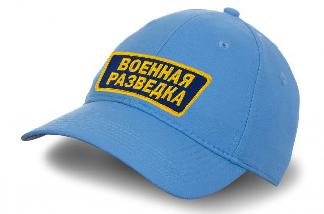 Небесно-голубая кепка Военная разведка.