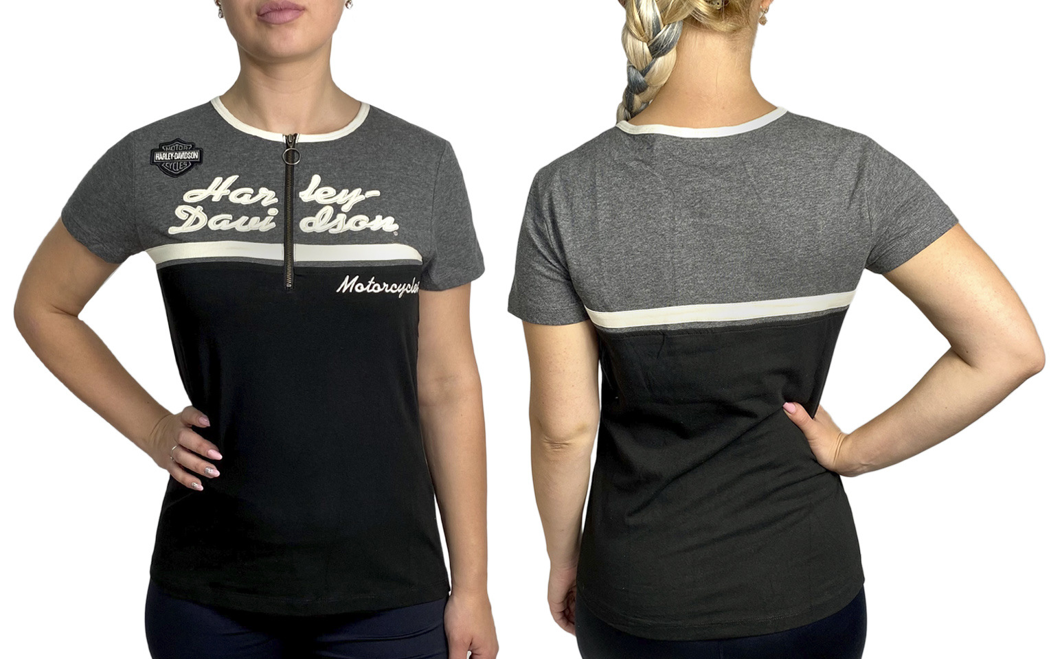 Недорогая женская футболка Harley-Davidson