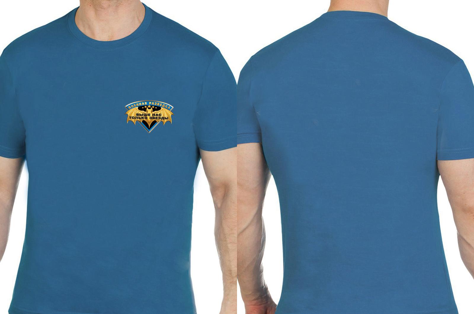 Необычная военная футболка для разведчиков