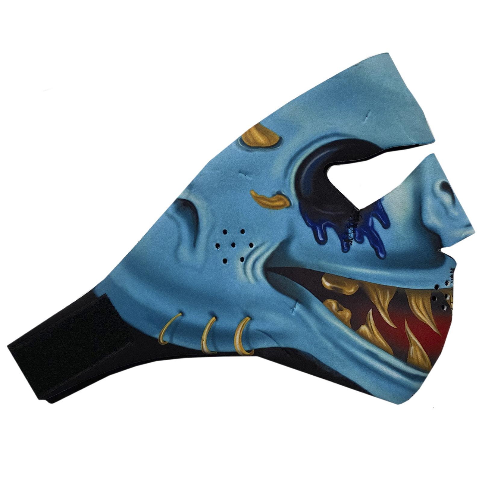 Неопреновая антикоронавирусная маска Wild Wear Reptilian